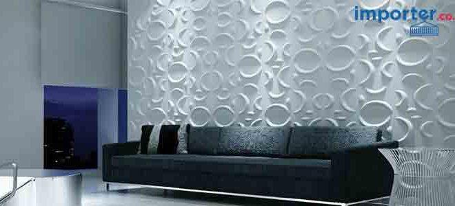 Dinding panel 3 dimensi