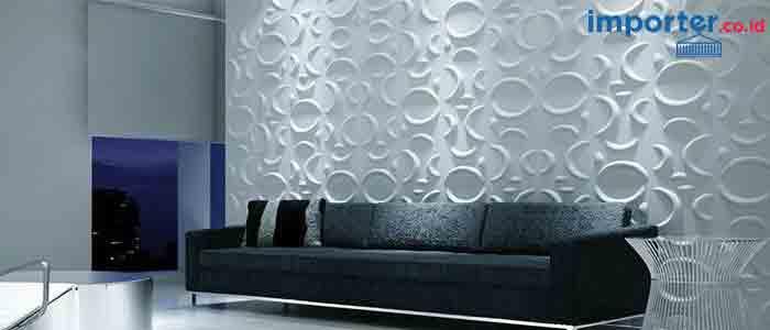 Bosan Pakai Wallpaper? Ganti Dengan Dinding Panel 3 Dimensi