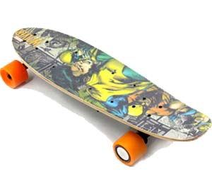 H1 model of wireless remote control electric skateboard (Single motor electric skateboard)