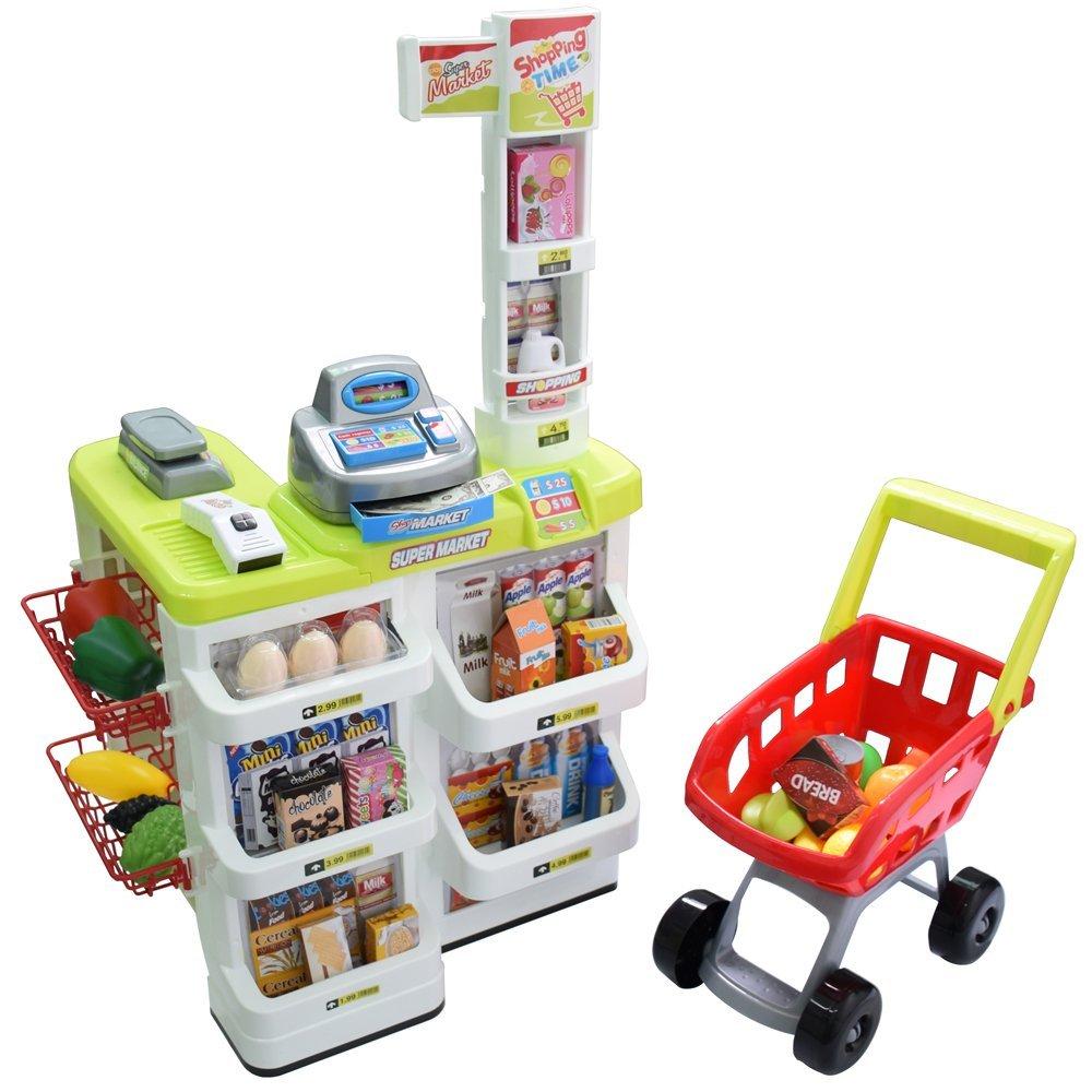 Minimarket Play-Set - Ajak Putri Anda Bermain Peran dengan 3 Mainan Anak Perempuan Terbaru Ini