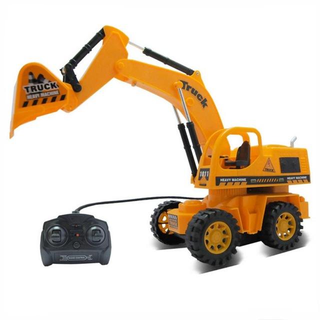 Truck Wheel Excavator - Intip Harga Mobil Remot Terkini agar Hadiah Bagi Si Jagoan Bisa Sesuai Bujet