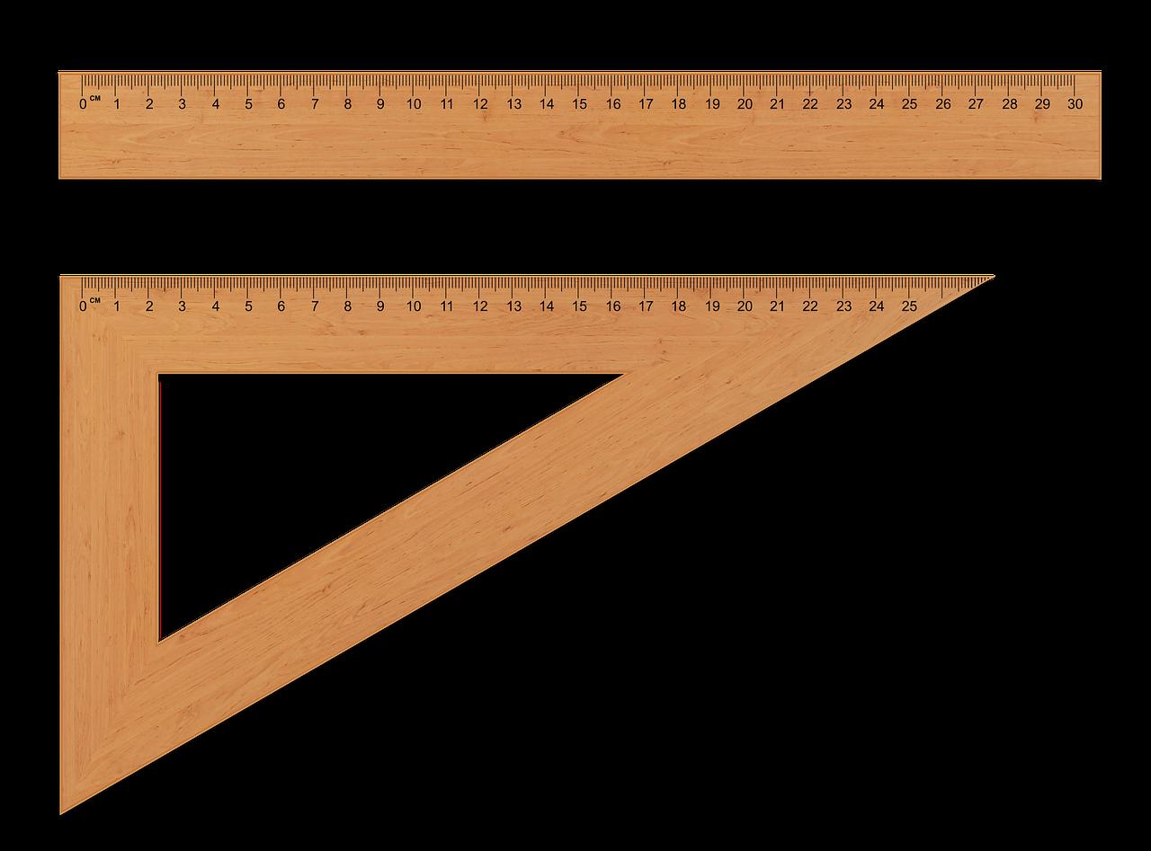 Penggaris Dalam Bentuk Ukuran Material Fungsi Penggunaan Siku Meteran Tebal Jenis Berdasarkan Bahan