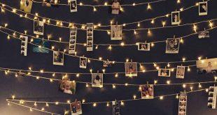 Munculkan Kenangan Indah Bersama Orang Tersayang dengan Rangkaian Lampu LED Kecil - Wujudkan Kamar Impian dengan Lampu LED Kecil - Photojaanic.com
