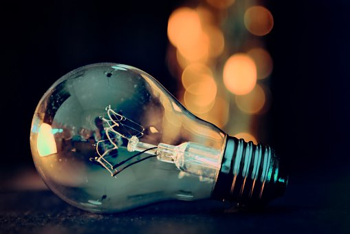 Jenis Lampu Bohlam -Kenali Dulu 5 Jenis Lampu Sebelum Membeli - Pixabay.com