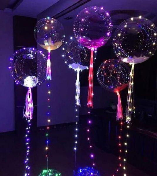 Melilit kan nya pada balon transparan - Ini 6 Cara Membuat Lampu Tumblr Terlihat Lebih Cantik - pricearea.com